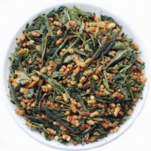Popcorn Genmaicha * Japan Roasted Brown Rice Green Tea