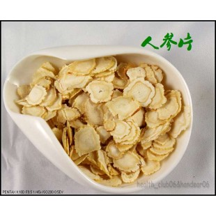 TOP KOREAN WHITE PANAX GINSENG SLICES EXTRA LARGE ROOTS