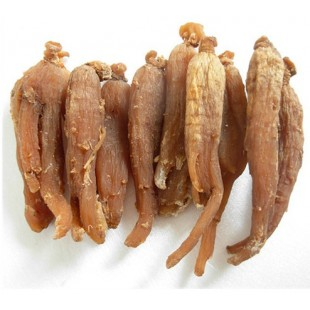 Chinese Herb Asian Panax Korean Red Ginseng Root 6 years old
