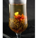 Ai xin feng xian , Love dedication, Blooming Flowering Flower Artistic Tea