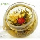 Long Men Xi Zhu , Chinese Blooming Flowering Flower Artistic Tea