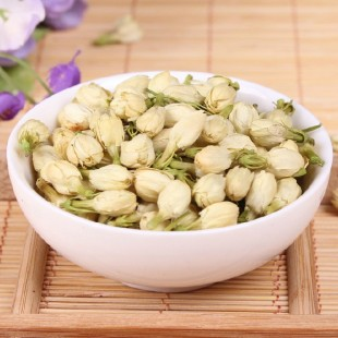 Dried Chinese Jasmine Bud Flower Tea,Leaves aroma, Mo Li Hua Cha Herbal
