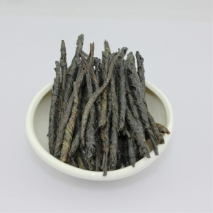 Imperial Wild-growing Hainan Kuding tea,black bitter stalk tea Grade: B
